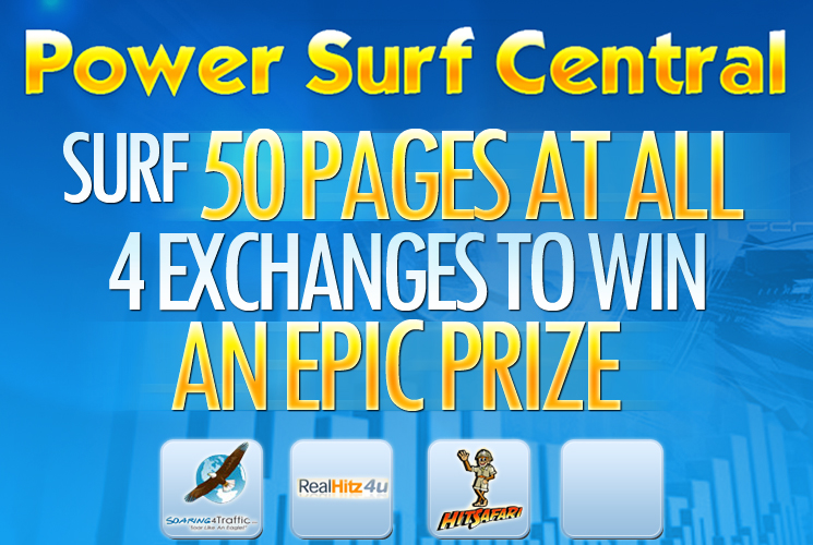 PSC Surf 50 Prize Page